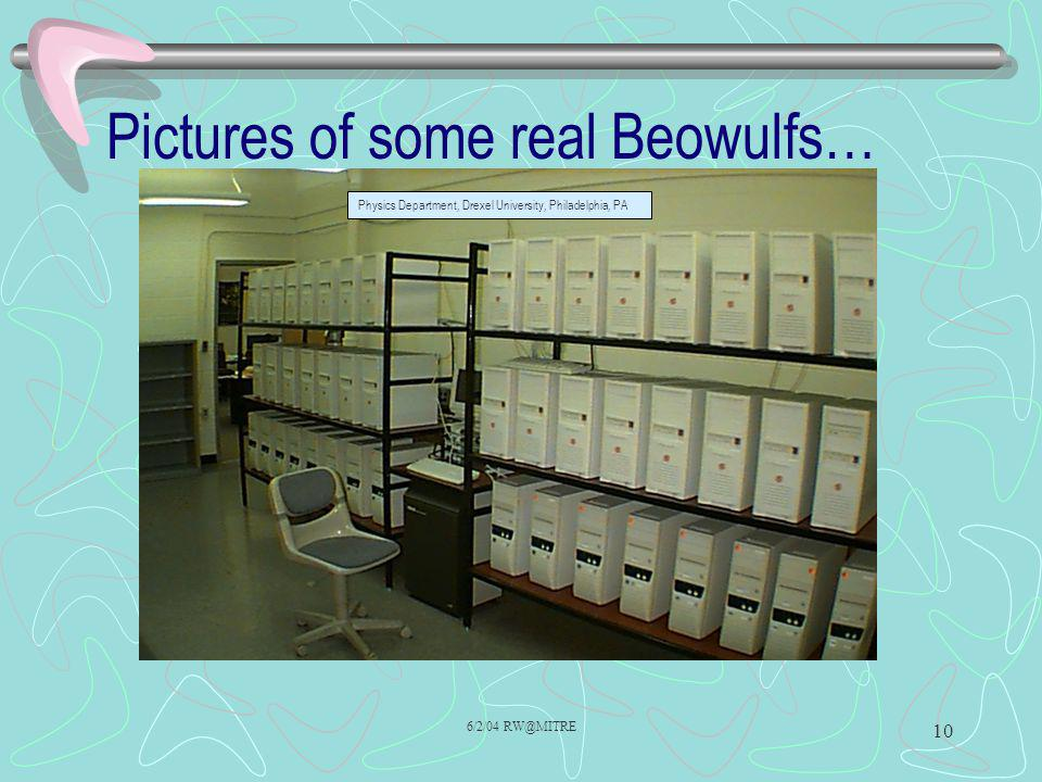 Pictures of some real Beowulfs…
