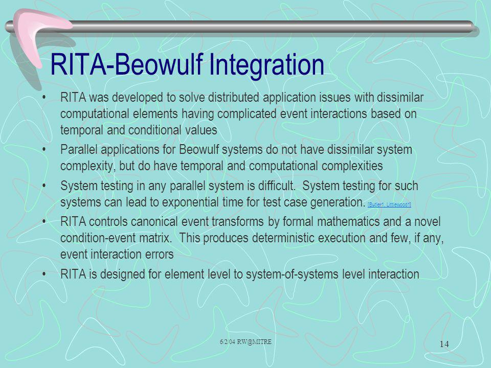RITA-Beowulf Integration