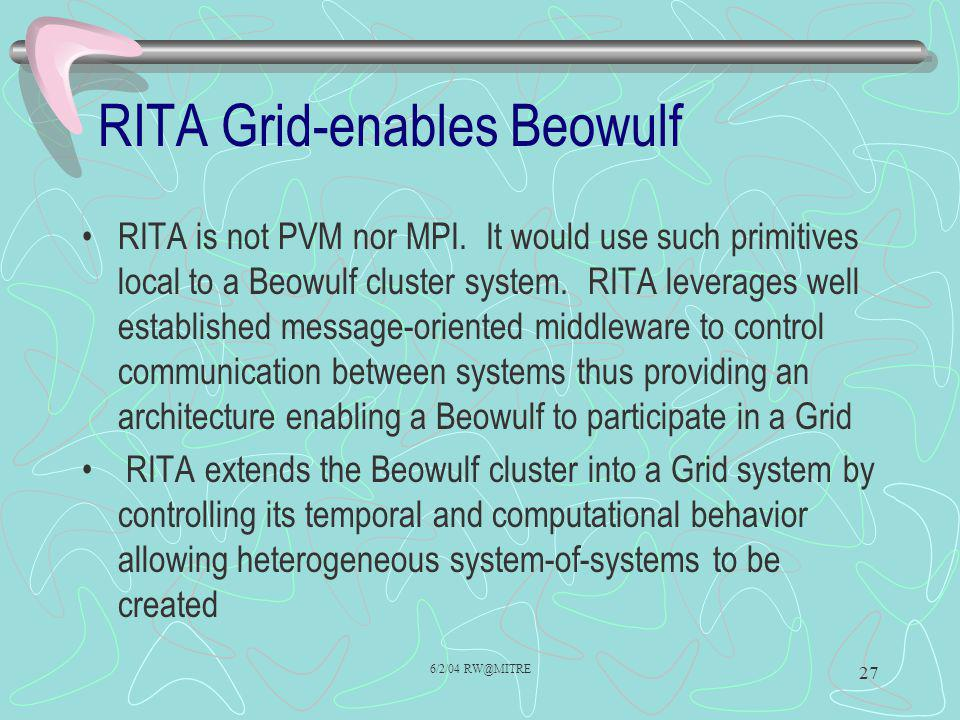RITA Grid-enables Beowulf