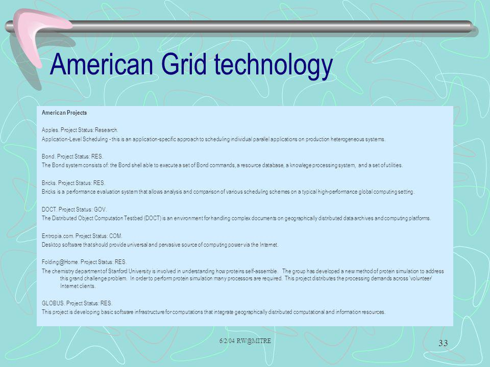 American Grid technology