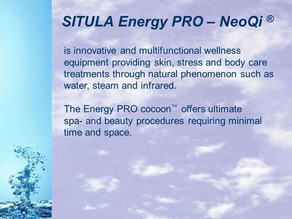SITULA Energy PRO – NeoQi ®