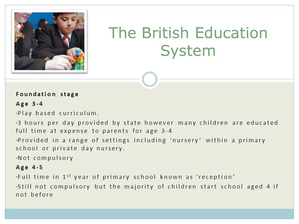 The British Education System