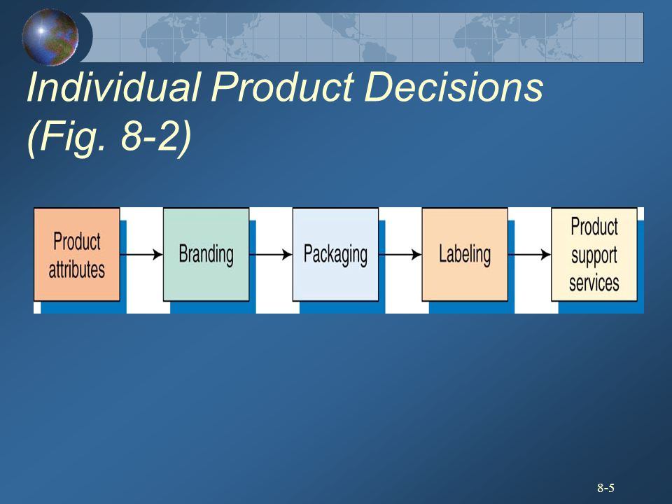 Individual Product Decisions (Fig. 8-2)