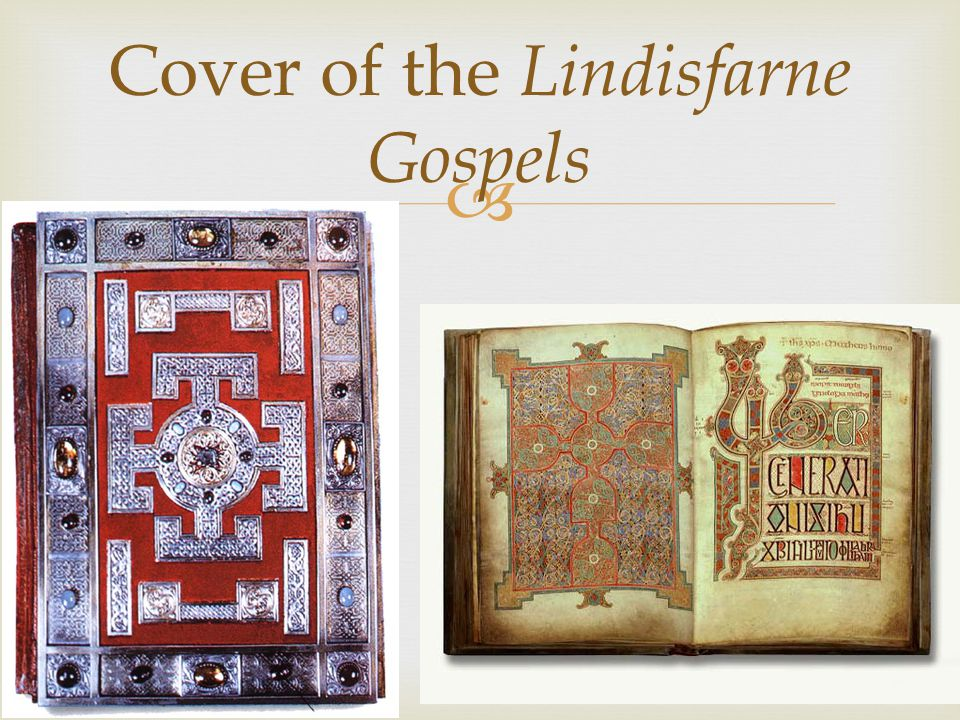 Cover of the Lindisfarne Gospels