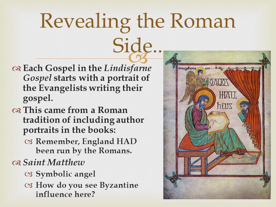 Revealing the Roman Side..