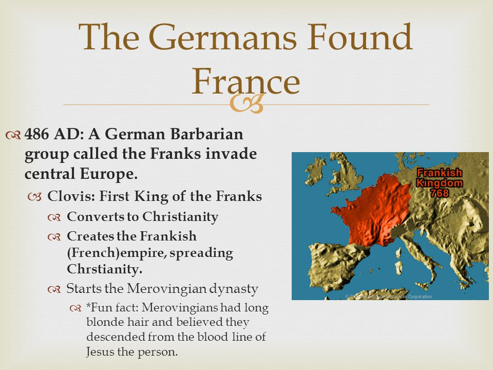 The Germans Found France