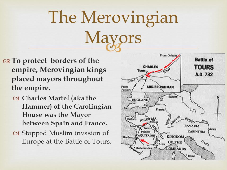 The Merovingian Mayors