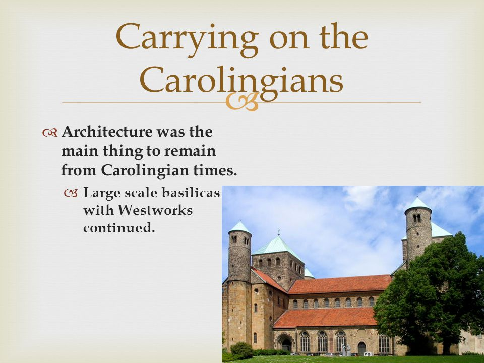 Carrying on the Carolingians