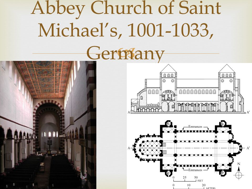 Abbey Church of Saint Michael's, 1001-1033, Germany
