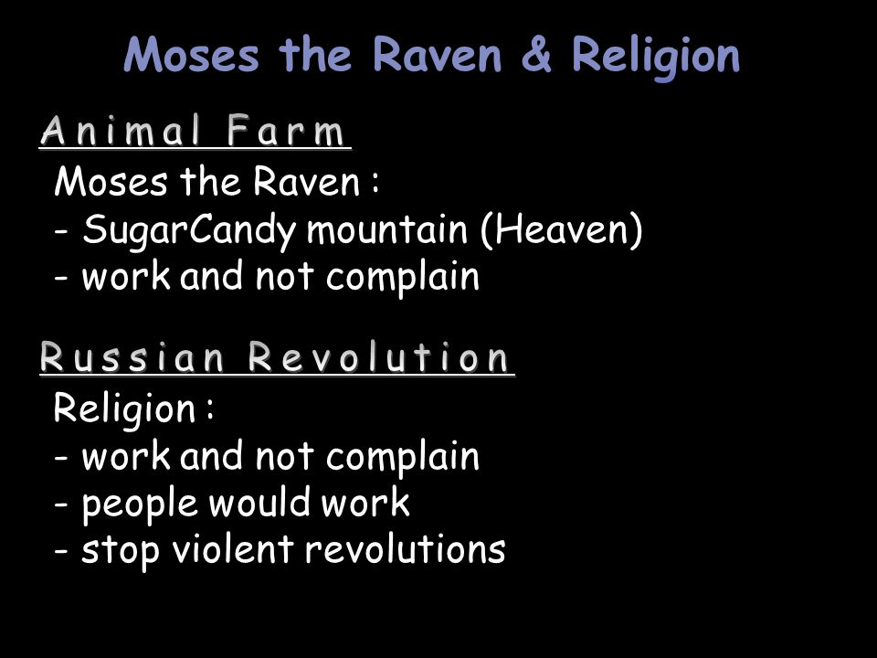 Moses the Raven & Religion