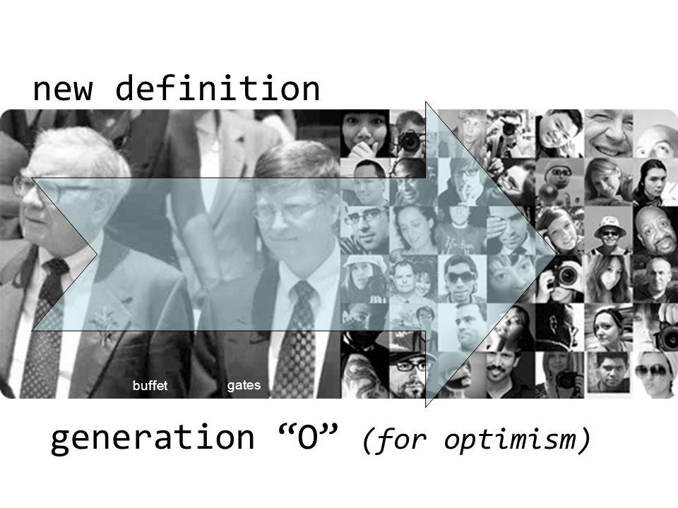 generation O (for optimism)