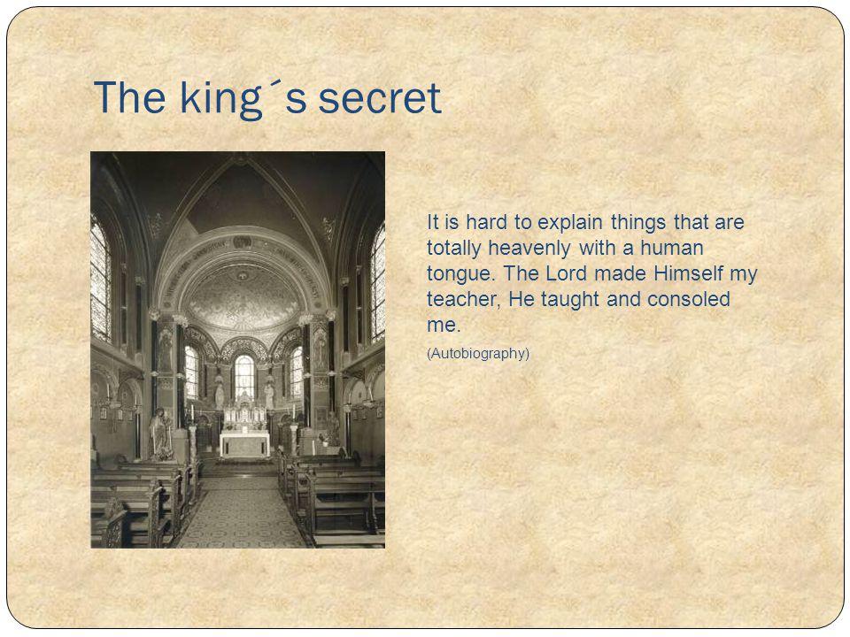 The king´s secret