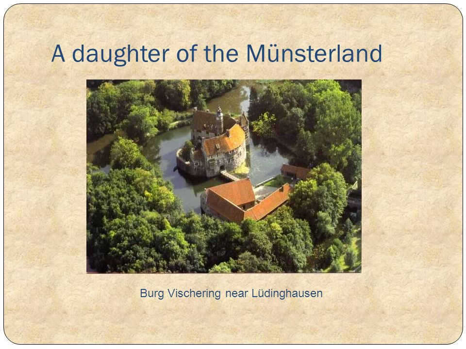 A daughter of the Münsterland