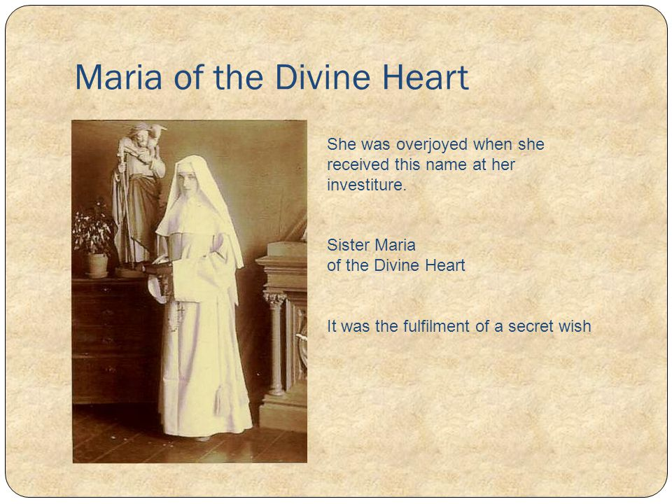 Maria of the Divine Heart