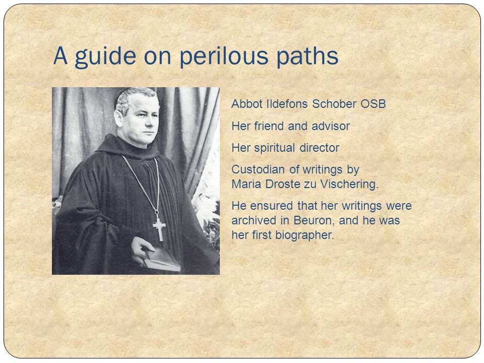 A guide on perilous paths