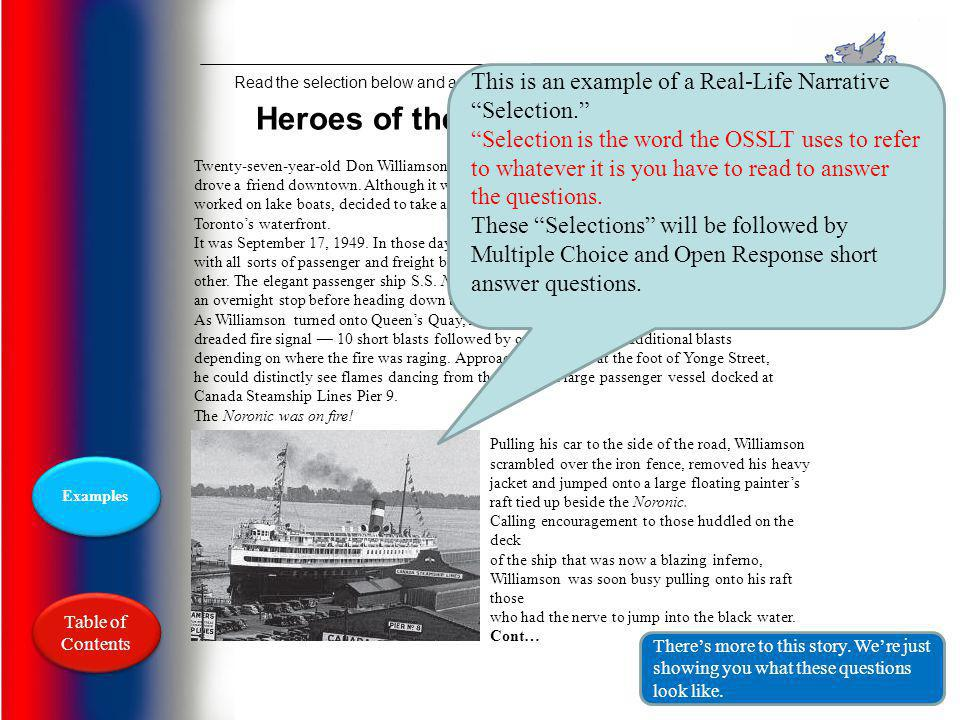 Heroes of the Noronic Disaster