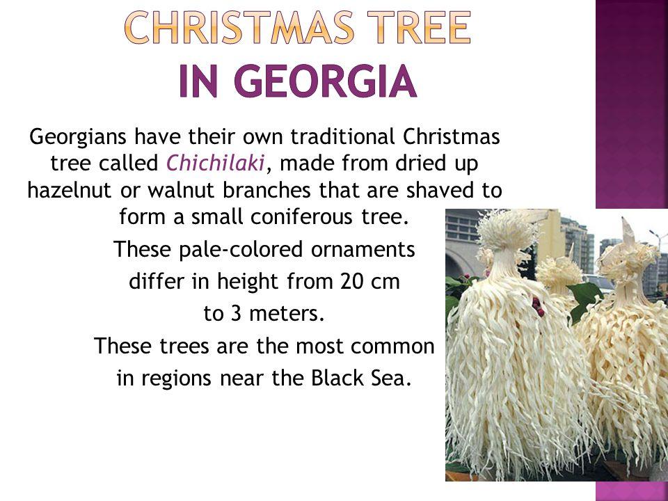 Christmas tree in Georgia