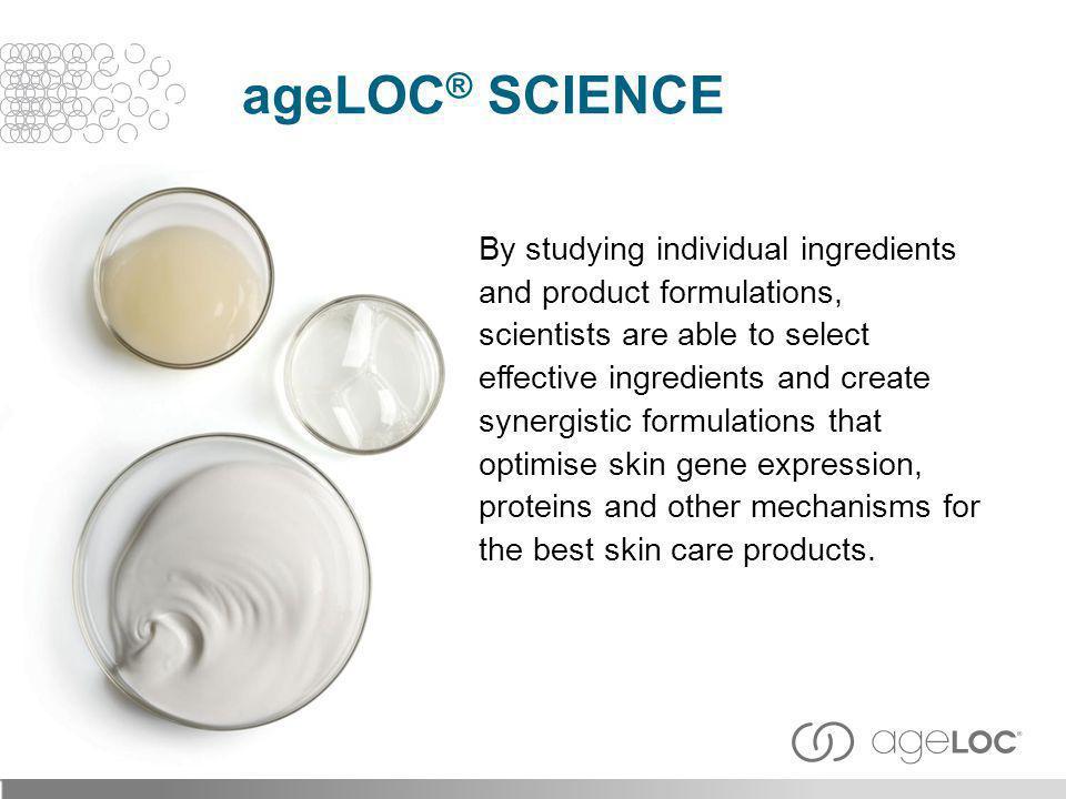 ageLOC® Science