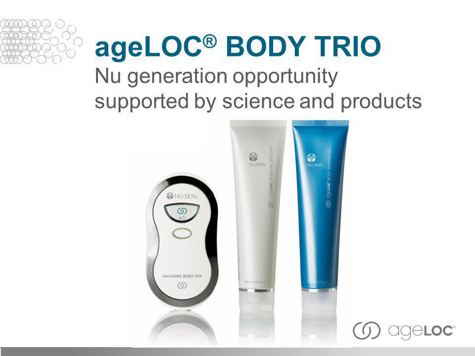ageLOC® Body Trio Nu generation opportunity supported by science and products