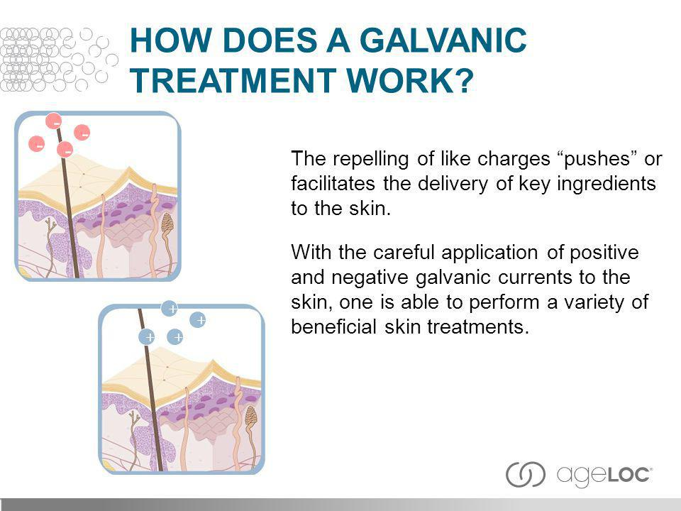 How Does a Galvanic Treatment Work