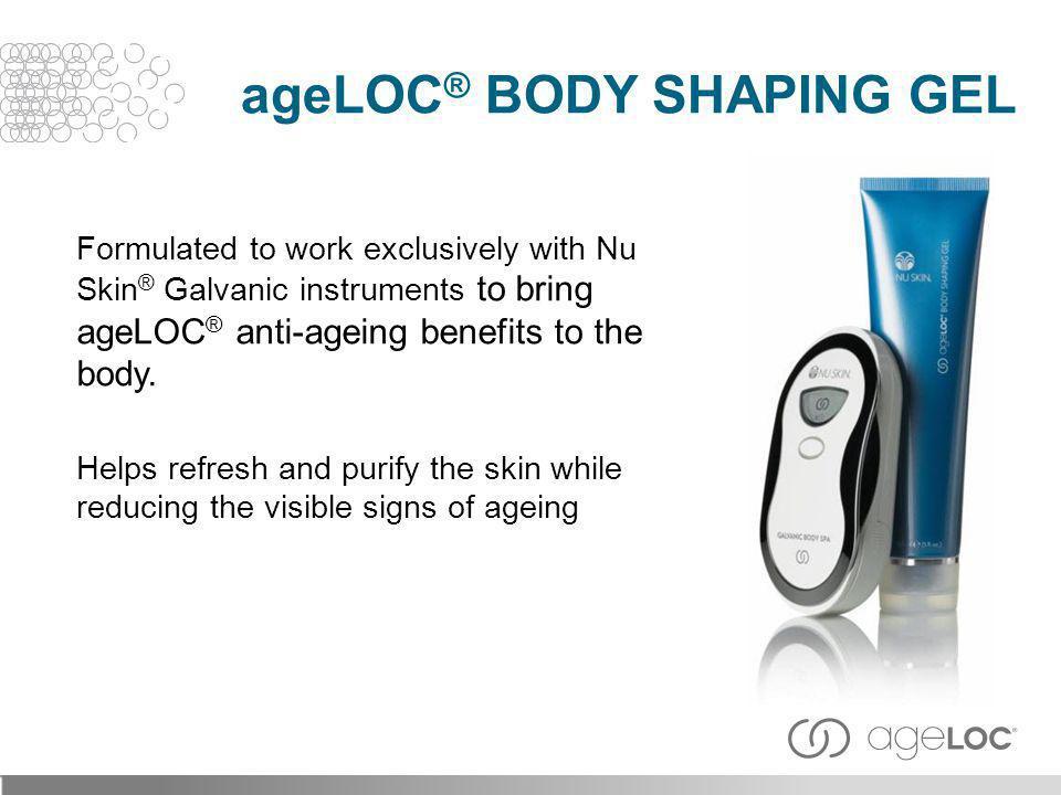 ageLOC® Body Shaping Gel