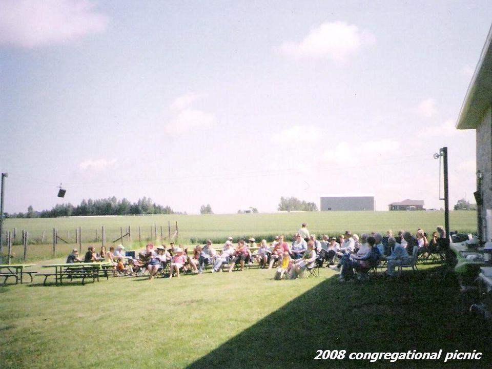 2008 congregational picnic