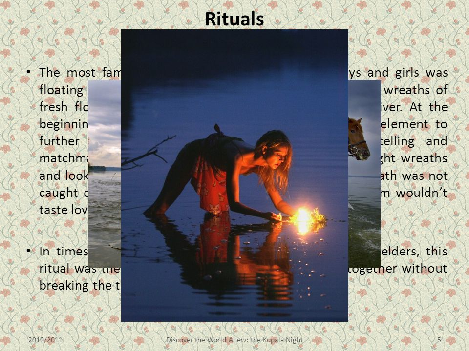Rituals Wreaths' floating