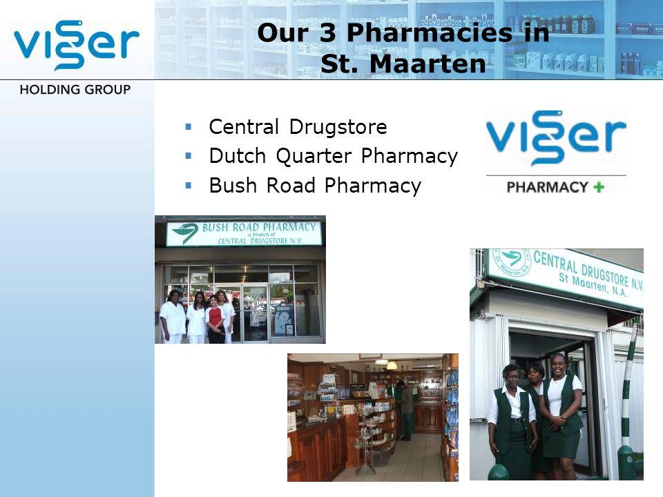 Our 3 Pharmacies in St. Maarten