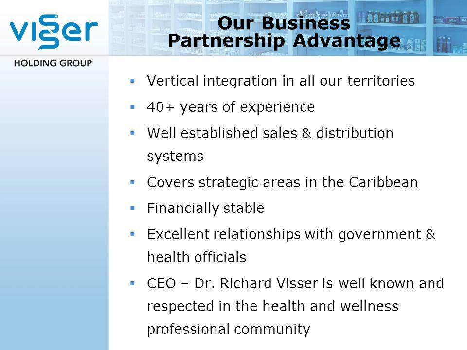 Our Business Partnership Advantage