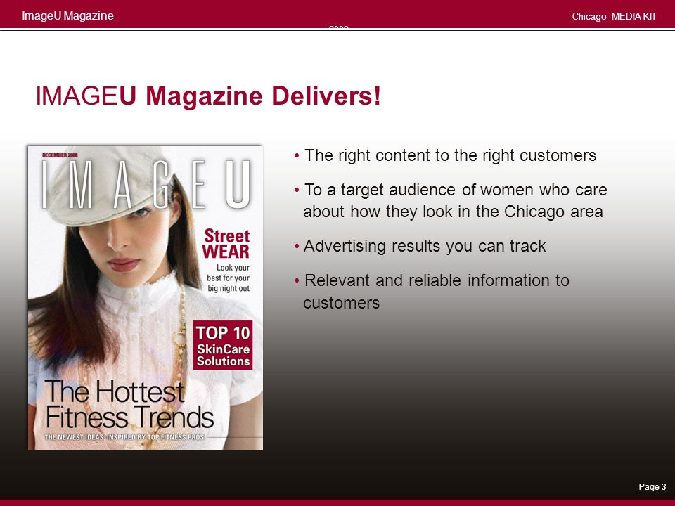 IMAGEU Magazine Delivers!