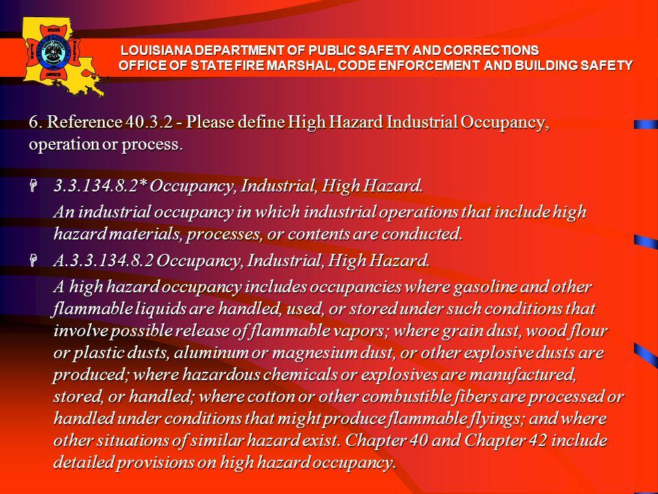 3.3.134.8.2* Occupancy, Industrial, High Hazard.