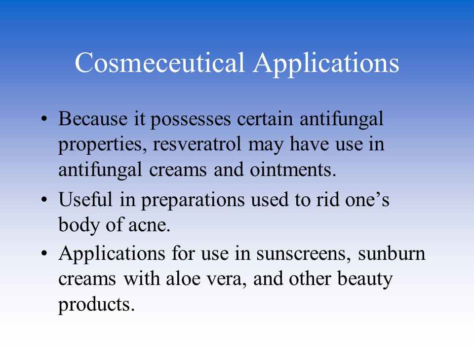 Cosmeceutical Applications