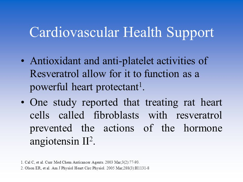 Cardiovascular Health Support