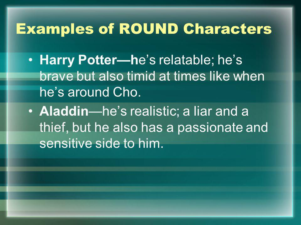 Examples of ROUND Characters