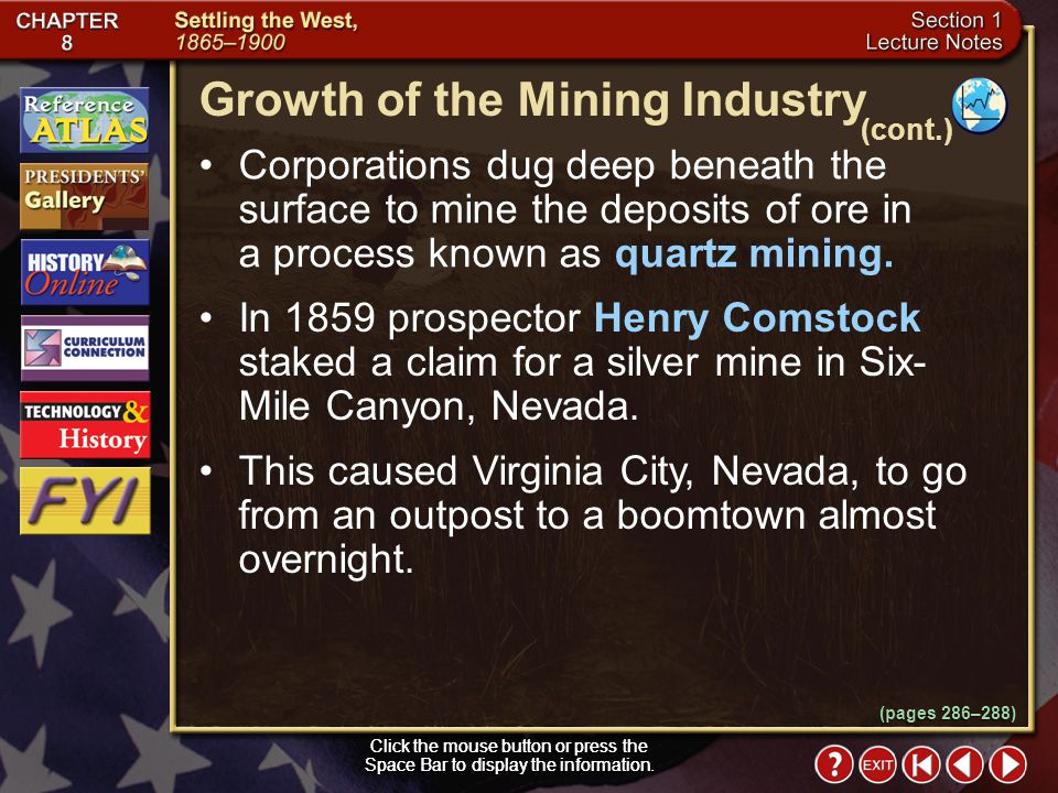 Growth of the Mining Industry