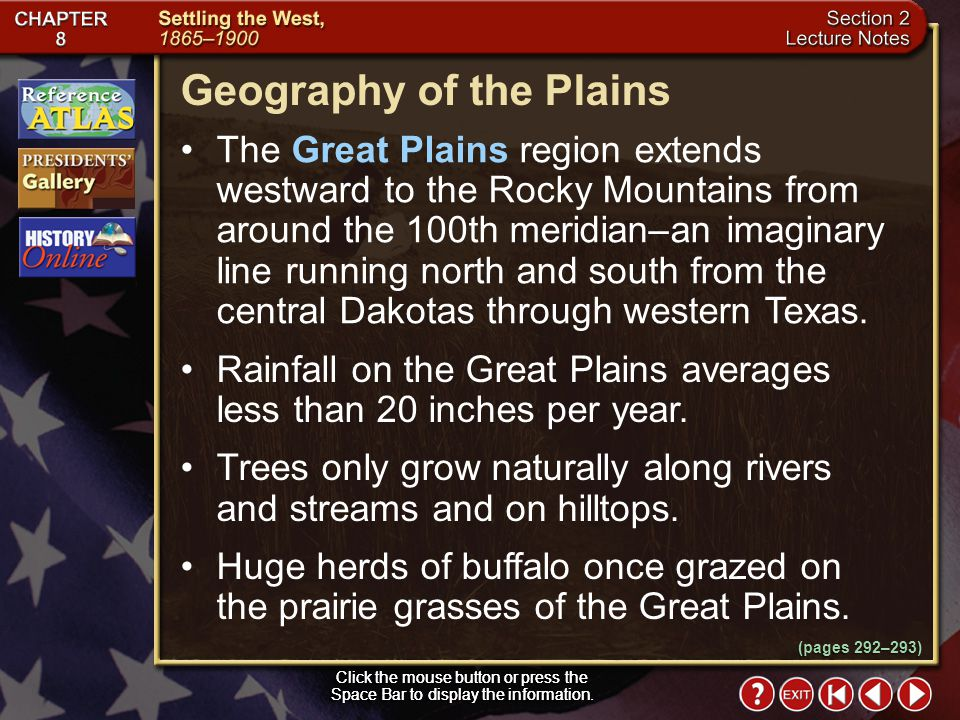 Geography of the Plains