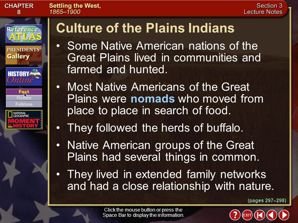 Culture of the Plains Indians