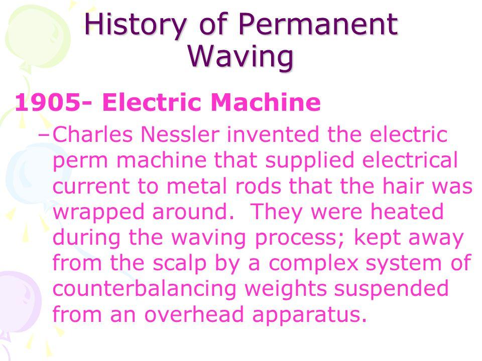 History of Permanent Waving