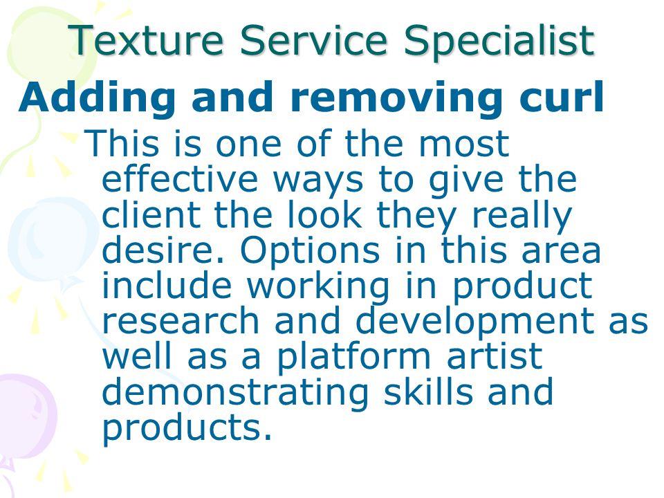 Texture Service Specialist