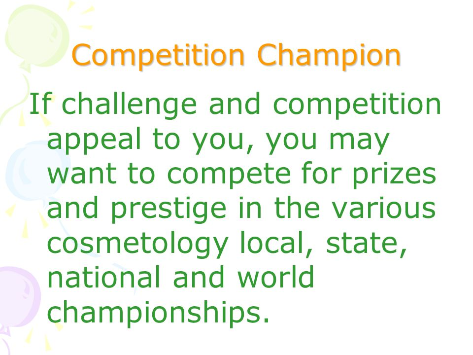 Competition Champion