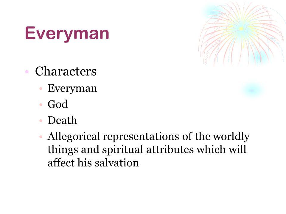 Everyman Characters Everyman God Death