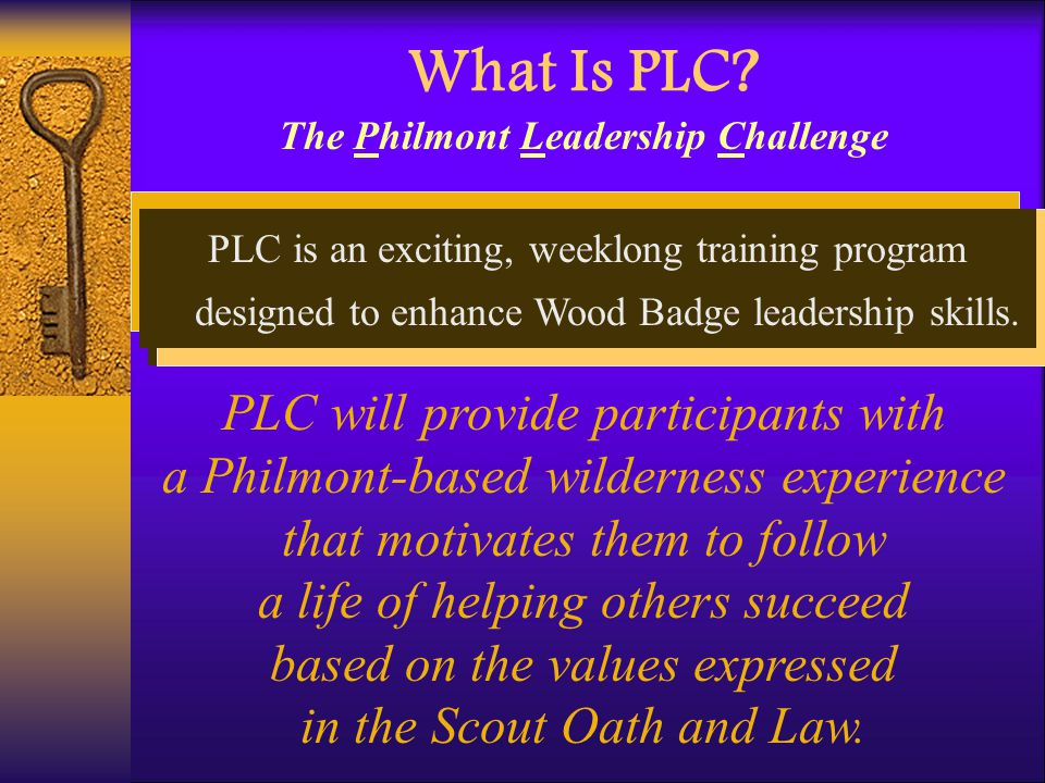 The Philmont Leadership Challenge