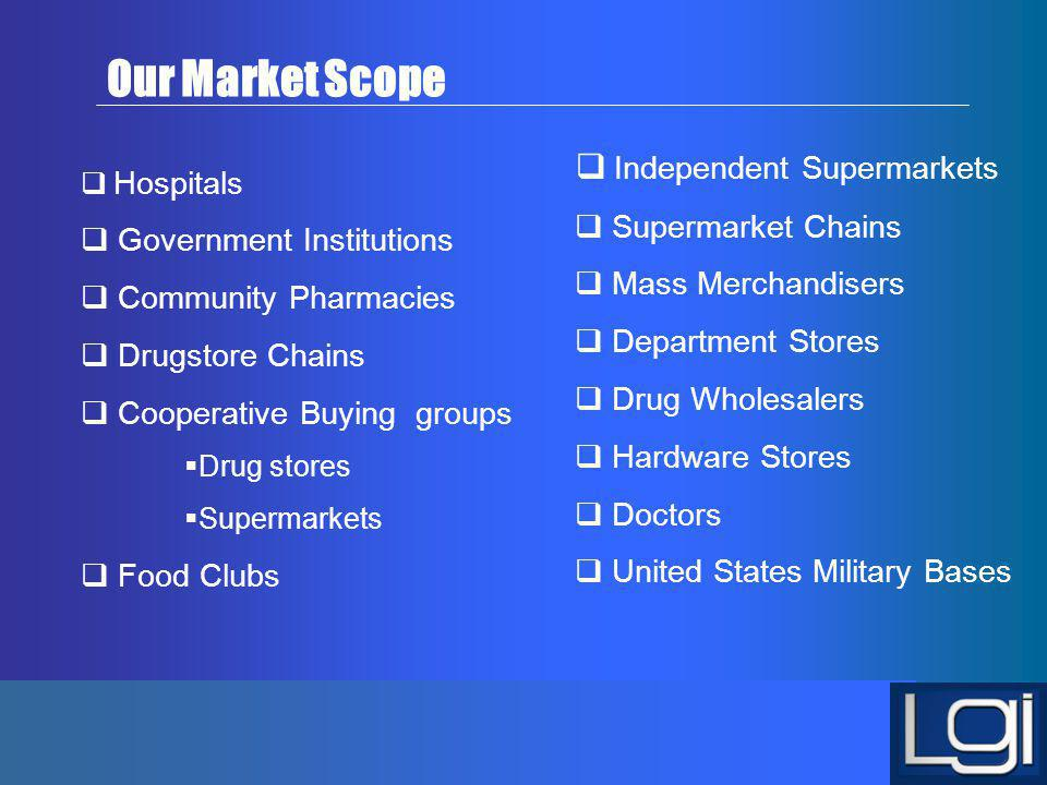 Our Market Scope Independent Supermarkets Supermarket Chains