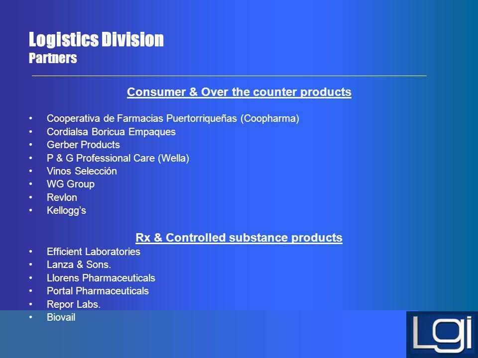 Logistics Division Partners