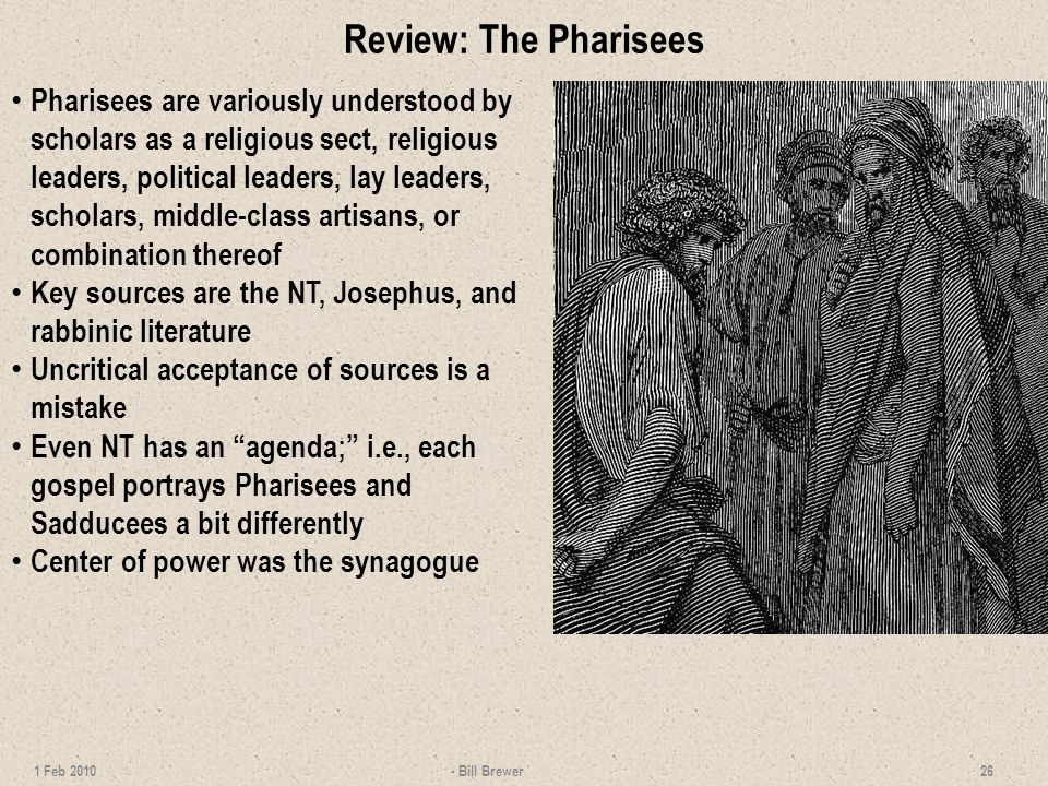 Review: The Pharisees
