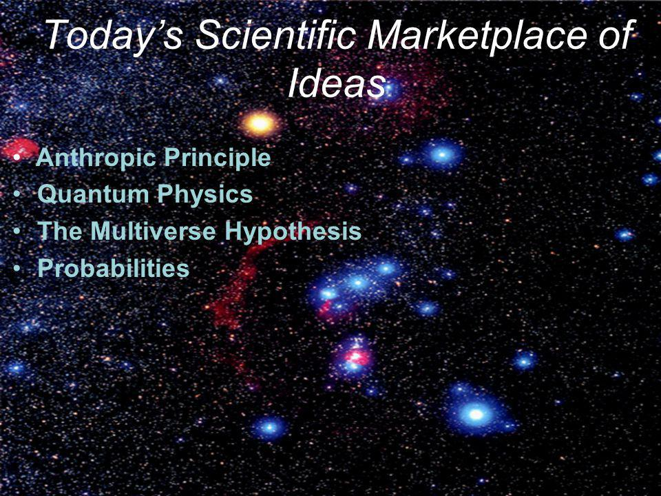 Today's Scientific Marketplace of Ideas
