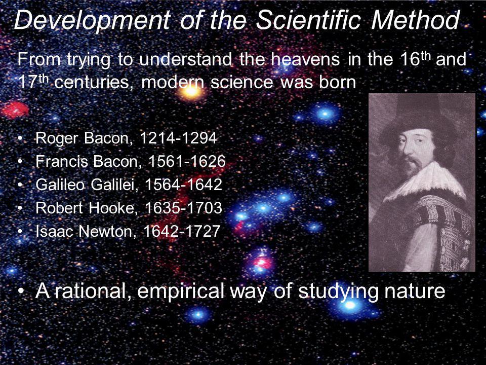 Development of the Scientific Method