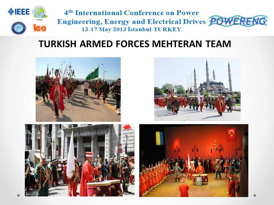 TURKISH ARMED FORCES MEHTERAN TEAM