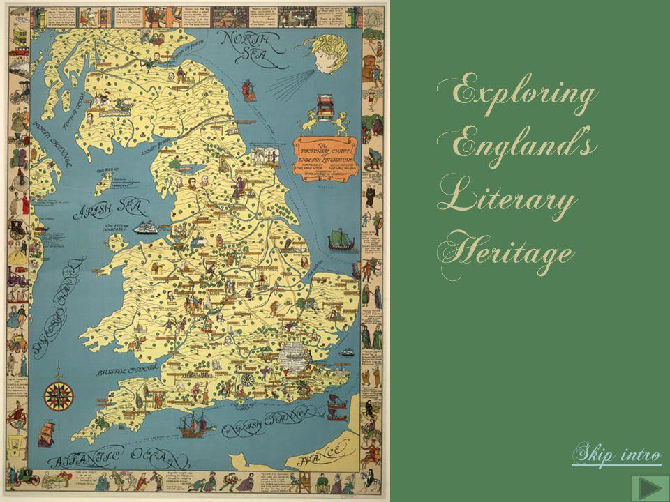 Exploring England's Literary Heritage Skip intro