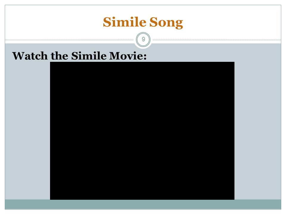 Simile Song Watch the Simile Movie: